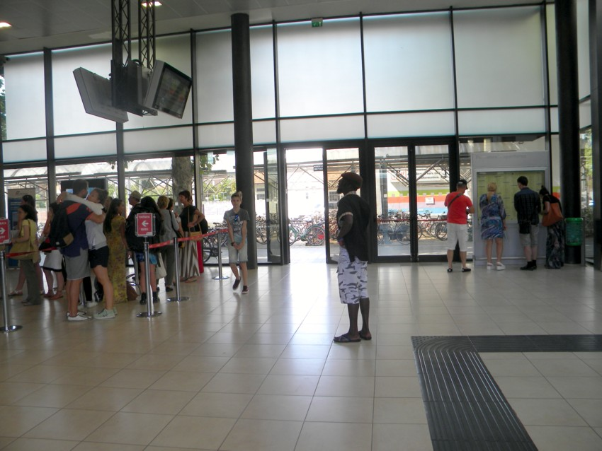 Un giorno nella stazione di Rimini