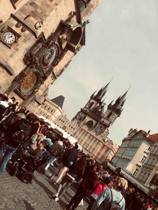 Orologio astronomico Praga città vecchia