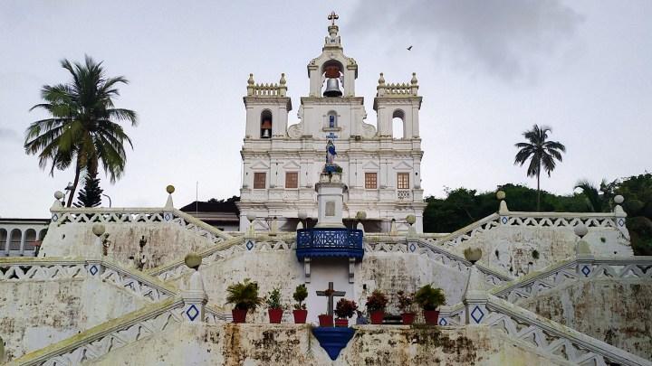L'église Notre-Dame de l'immaculée Conception à Panaji