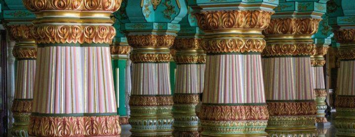 Salle d'audience du palais de Mysore