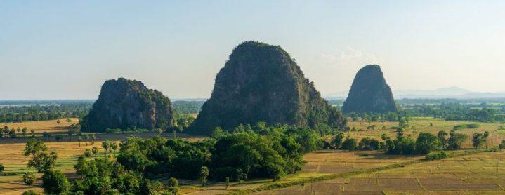 Montagnes karstiques à Hpa An