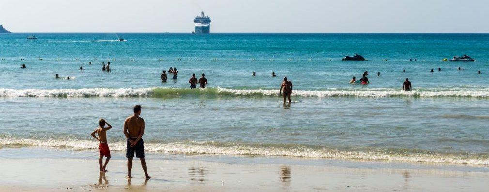 Une plage de Phuket