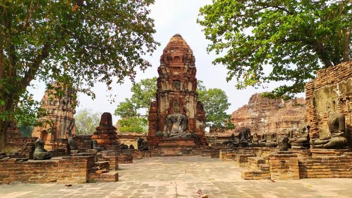 Temple à Ayutthaya