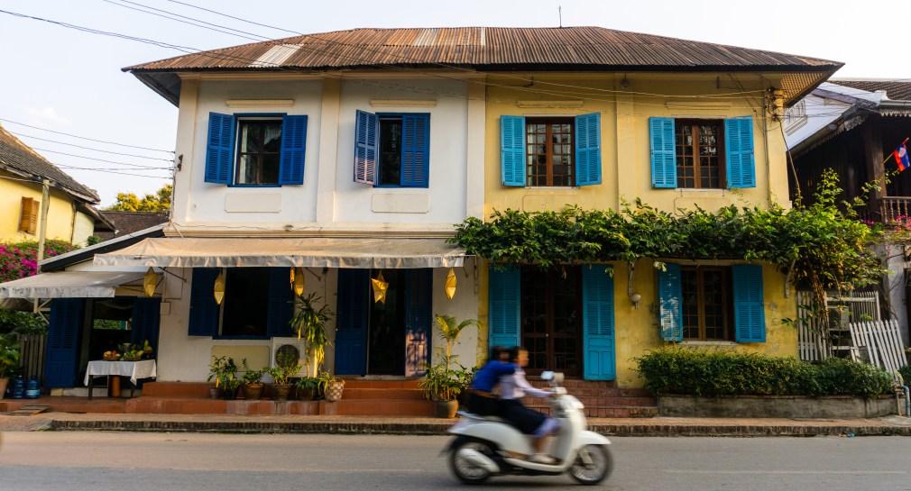 Maison coloniale à Louang Prabang