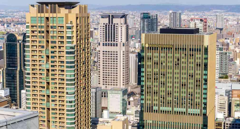 Osaka depuis le Umeda Skybuilding
