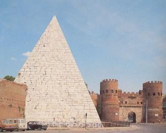 vedere a Testaccio Piramide Cestia