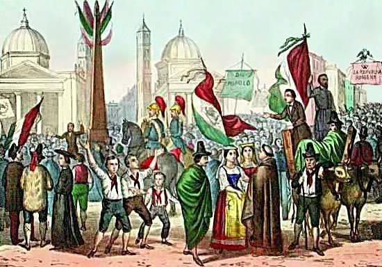 Luigi Danesi Risorgimento in Ballo