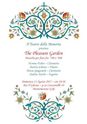 Pleasure Garden 2017