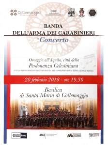 Santa Maria di Collemaggio Concerto Banda Carabinieri Orchestra Casella