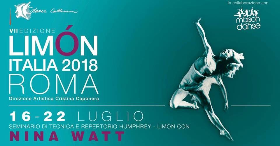 """""""Limón Italia 2018"""" con Nina Watt"""