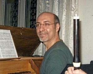 Paolo Tagliapietra accompagnamento al cembalo