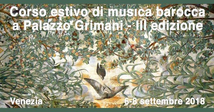 Torna il corso estivo SMAV a Palazzo Grimani