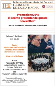 Rinaldo Alessandrini Variazioni Goldberg