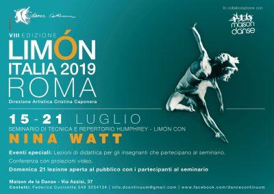 Limon Italia Maison de la Danse