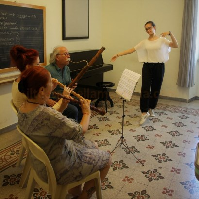 Bianca Silvia Za danza barocca