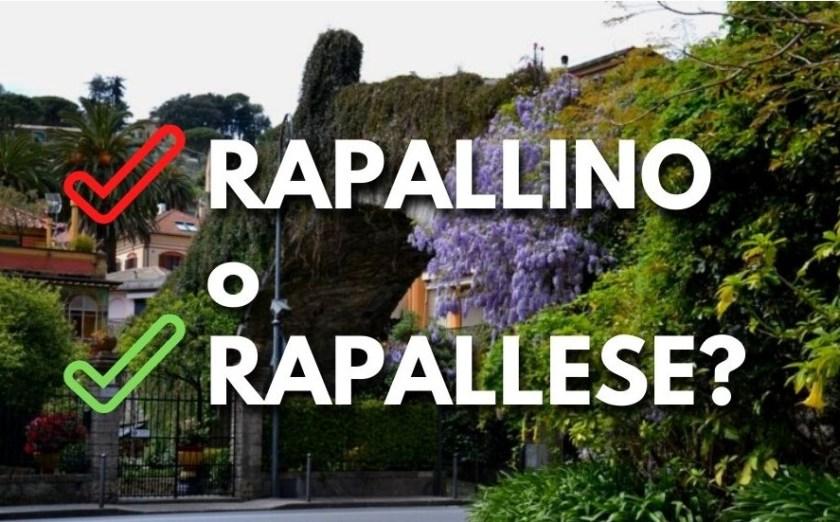 Rapallo, Abitanti di Rapallo