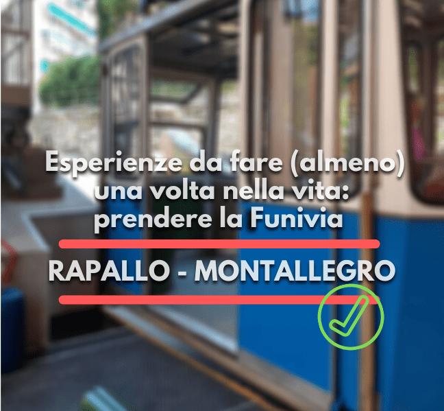 Funivia di Rapallo, Montallegro