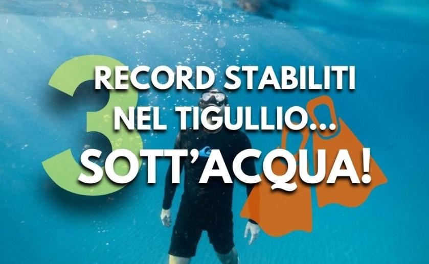 Record sott'acqua