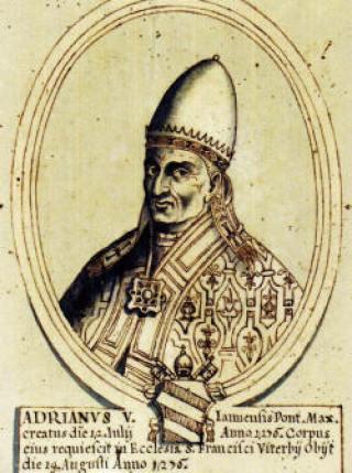 Papa Adriano V, Divina Commedia