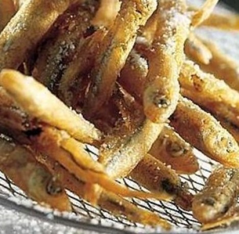 Pignolini fritti