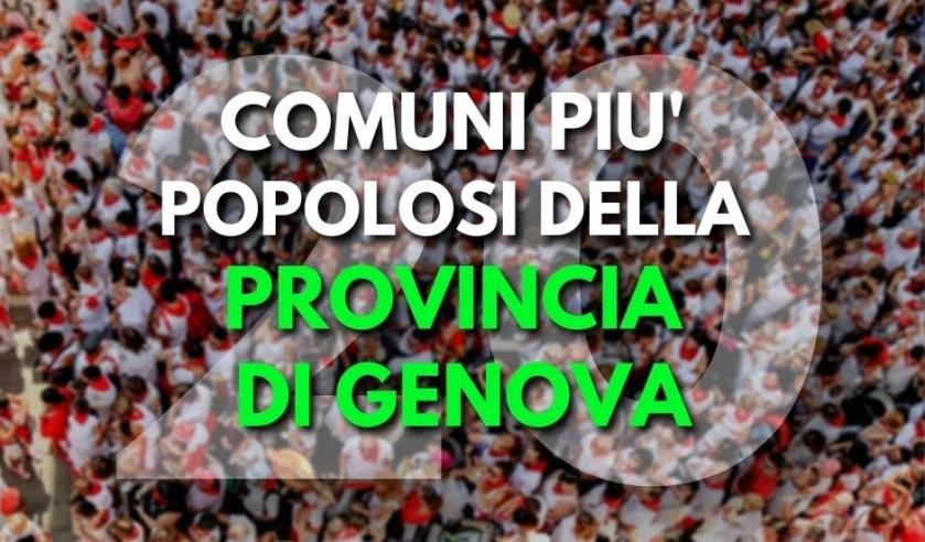Comuni provincia Genova