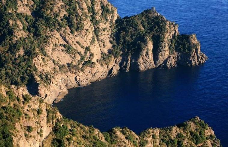 Cala dell'Oro, Monte di Portofino