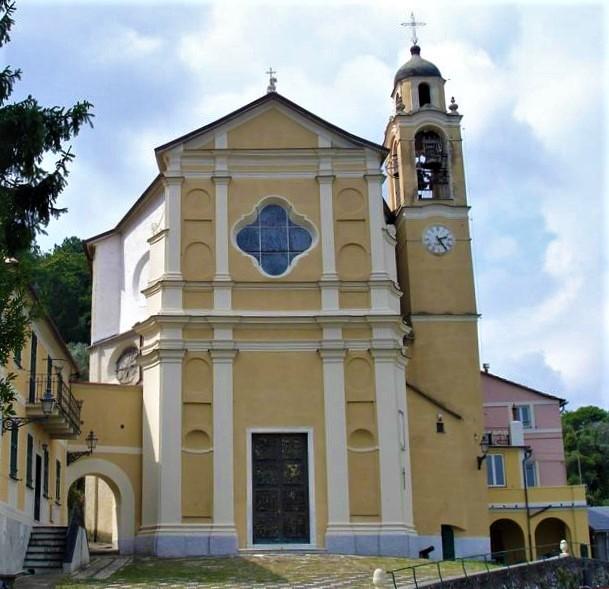 Santuario della Madonna di Nozarego a Santa Margherita Ligure