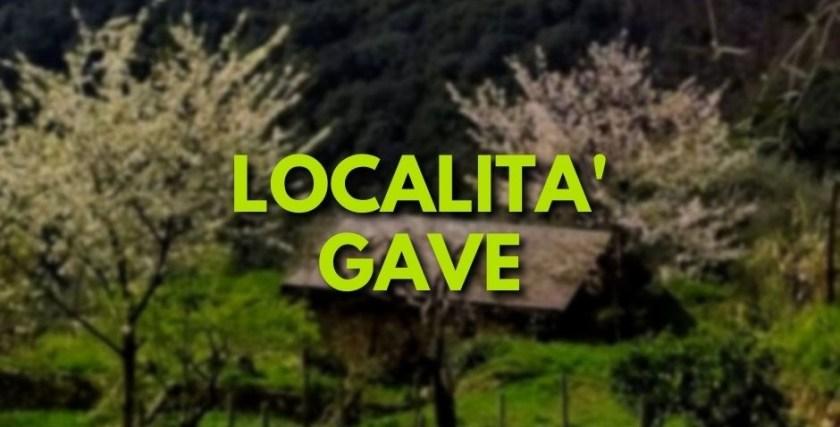 Gave, Monte di Portofino, Santa Margherita Ligure
