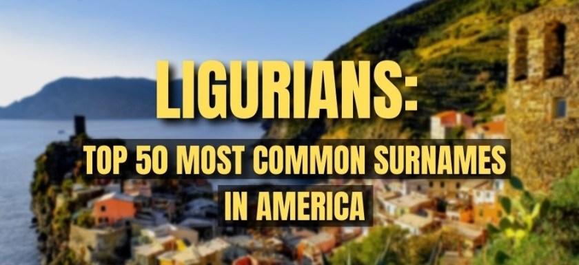 Ligurians in America