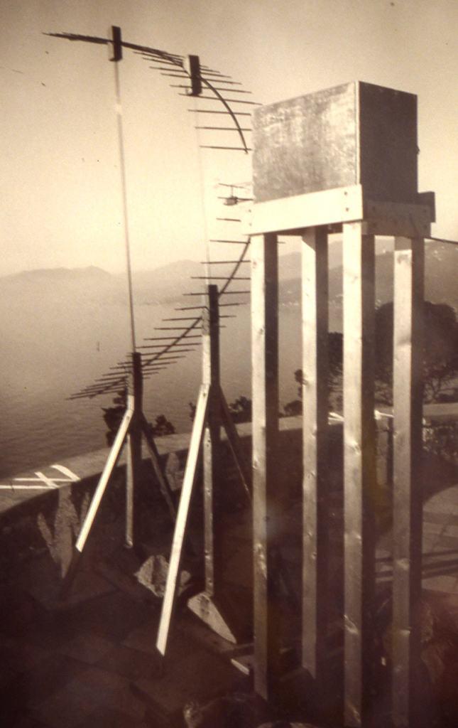 Guglielmo Marconi, esperimenti yacht Elettra, Torre Marconi