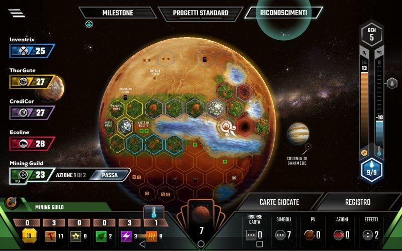 App di Terraforming mars