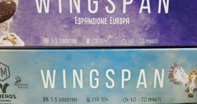 Wingspan espansione Europa: cronaca di una partita contro l'automa
