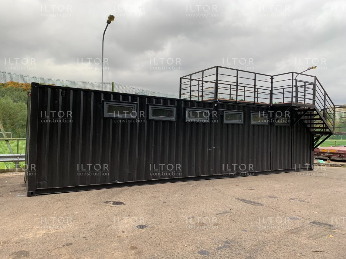 Раздевалка из 40 футового контейнера
