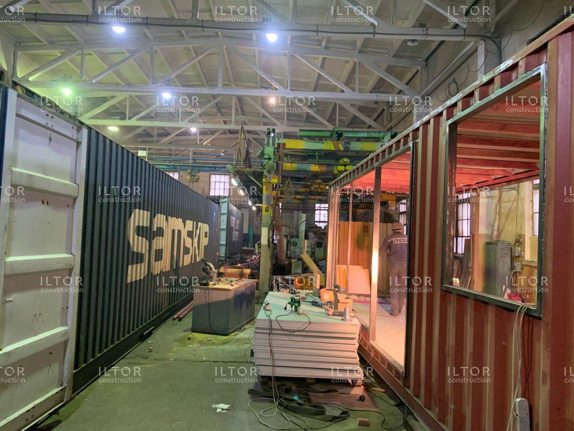 Переоборудование и модернизация морских контейнеров