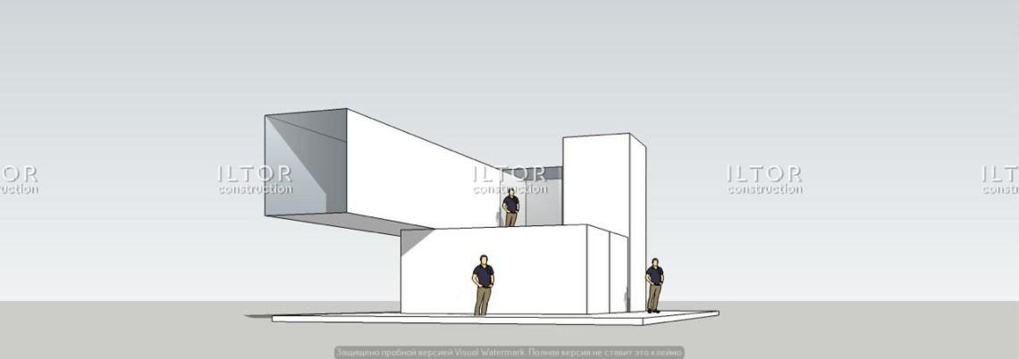 Проектирование кафе из контейнеров