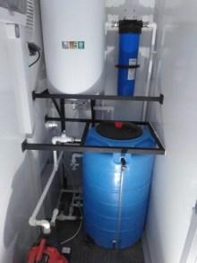 Комплектация агрегатного отсека мобильной кухни