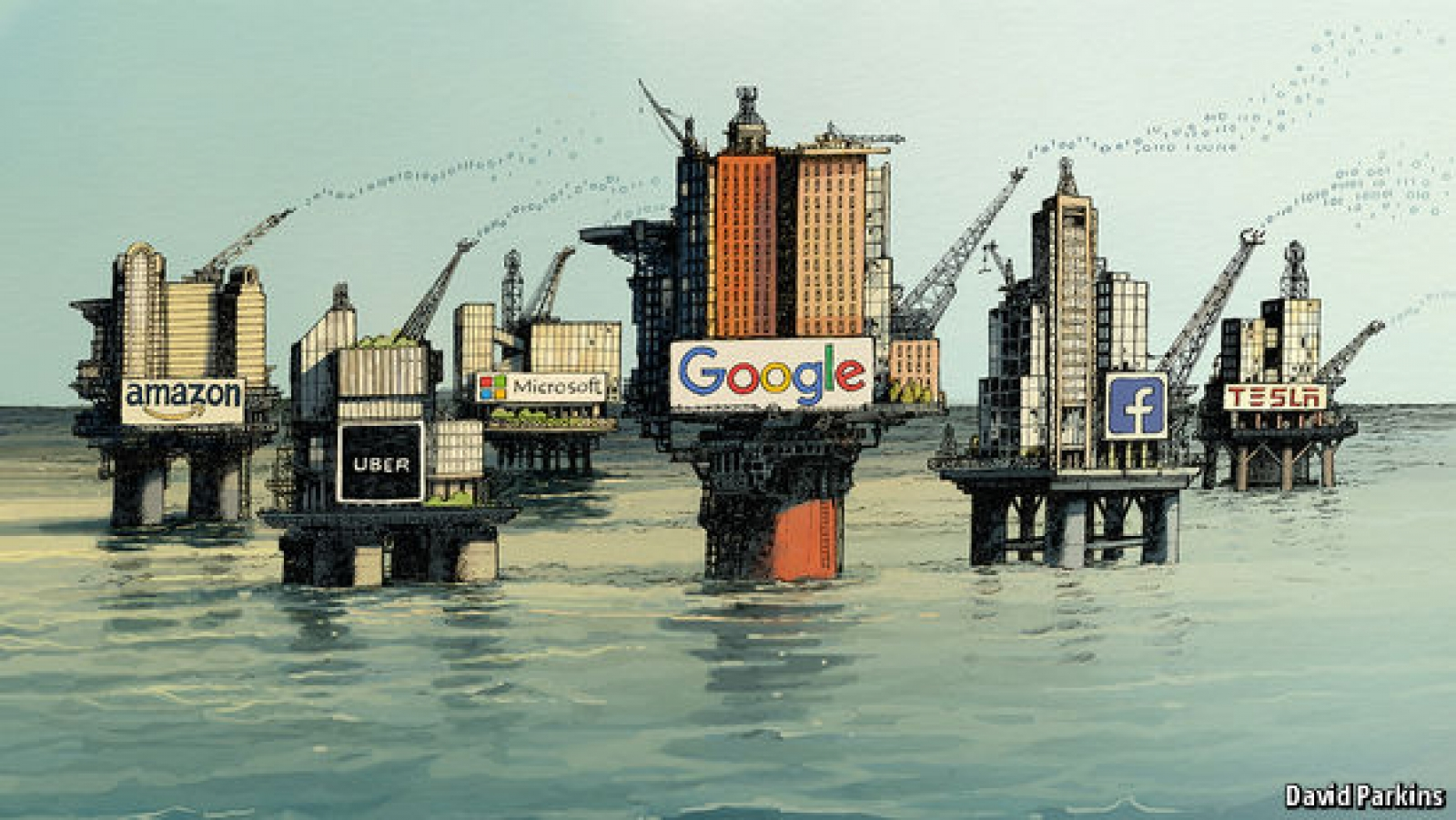 Regulating the internet giantsThe world's most valuable resource is no longer oil, but data