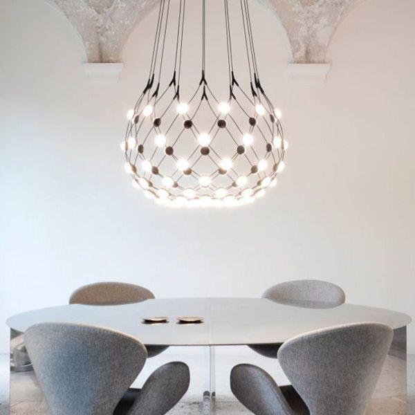 Inspiración de diseño de iluminación - Colgante Mesh