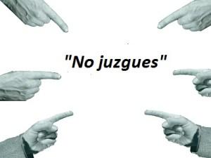 no juzgar