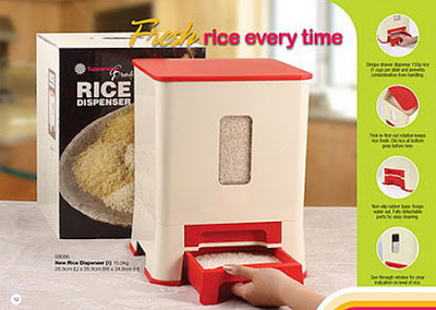 bekas menyimpan beras