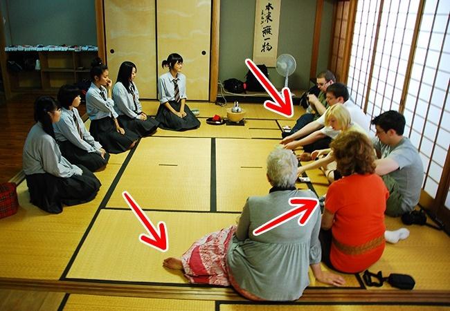 cara duduk orang jepun