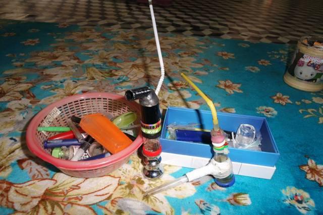 peralatan menghisap syabu ais batu crystal meth kits