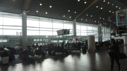 """Portão sala espera Aeropuerto """"El Dorado"""" Bogotá Colômbia 2"""