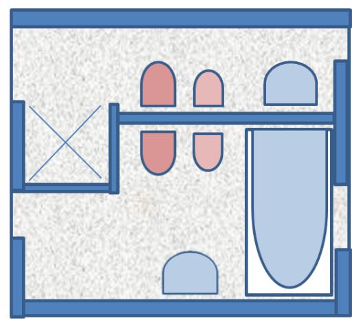 casa de banho vanitory lighting design interior arquitetura iluminação residencial