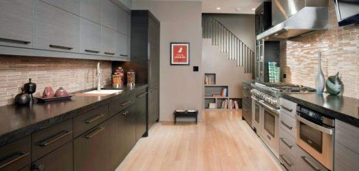 G l U ilha fogão iluminação arquitetura design lighting península residencial interior decoração casa lar