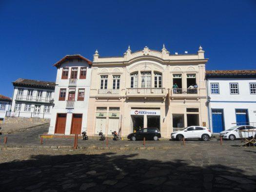 Sobrados arquitetura colônia Diamantina Brasil loja comercial