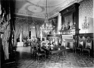 Quinta Unzué_Biblioteca_Nacional_Buenos_Aires_Interior_Archivo Arq. Gustavo Raik