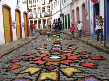 Ouro Preto_Semana Santa_Tapetes_Devocionais_Serragem_4