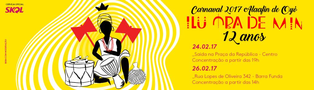 carnaval 2017 12 anos de ilú obá de min