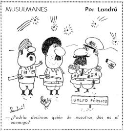 MUSULMANES POR LANDRU